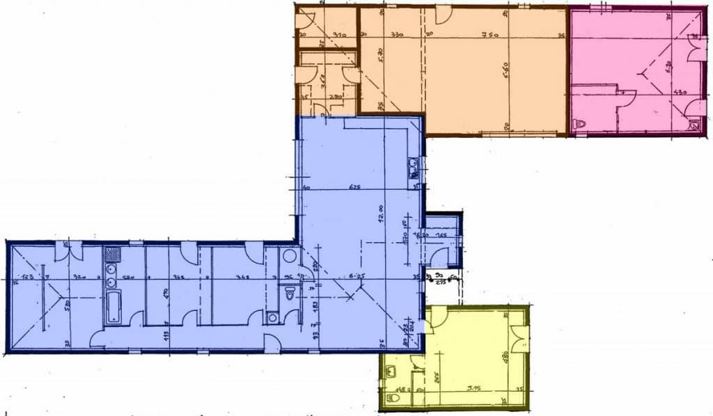 plan interieur du projet