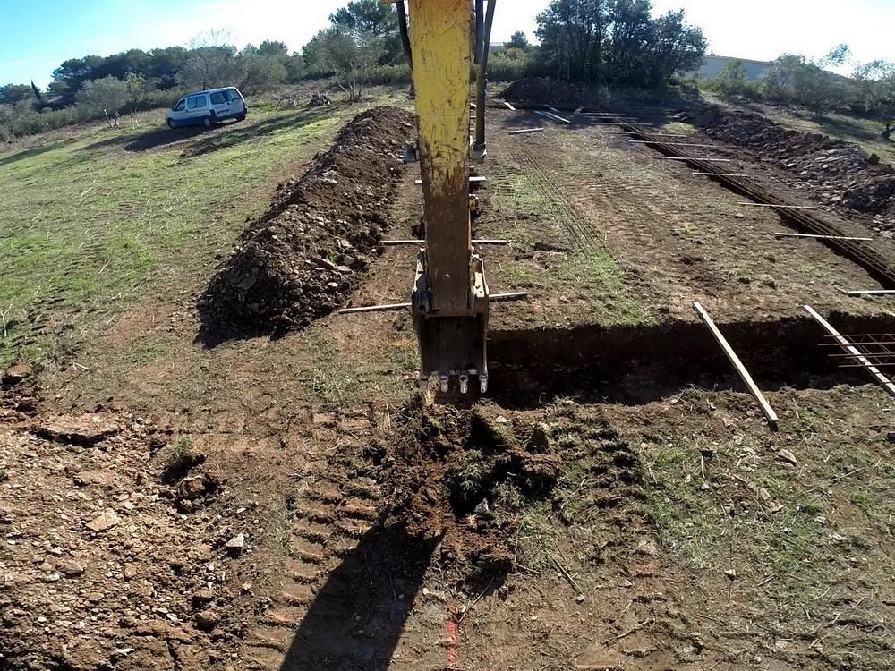 Terrassement Implantation Et Fondations De Notre Maison