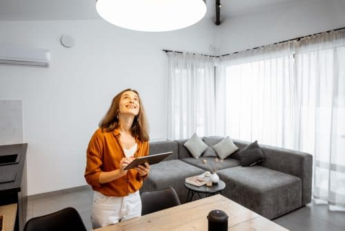 KNX controler lampes