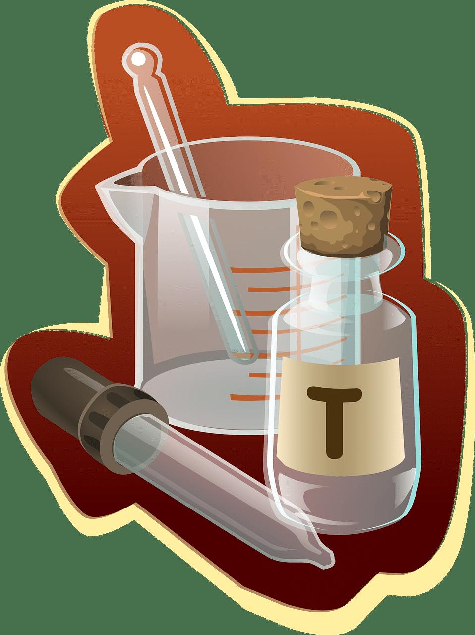 fixation avec le scellement chimique